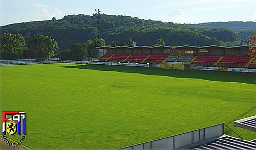 Stadion Diddel�ng  Luxemburg.